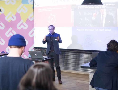 Smart money für KMUs und Startups – Startupland Frühstück April mit Marcel Grosskopff