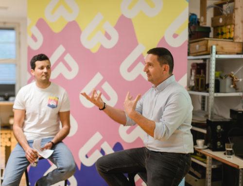 Vom Weltmarktführer zur inneren Begeisterung – Startupland Frühstück Mai mit Martin Wolf