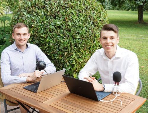 Vorarlberger Startup-Podcast: Ideen am laufenden Band