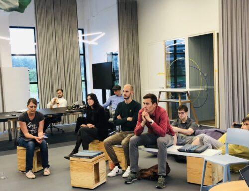 Zwischenpräsentation Batch#1 Postgaragen Startups