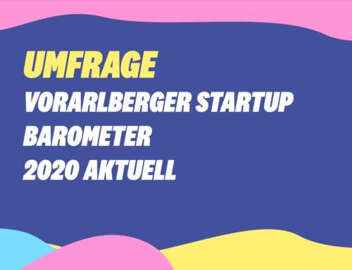 Umfrage Vorarlberger Startup Barometer 2020